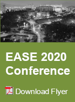 EASE 2020 Conference Flyer